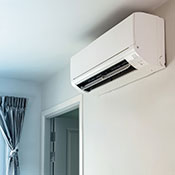 Ductless A/C system