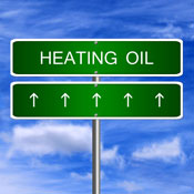 Heating oil sign